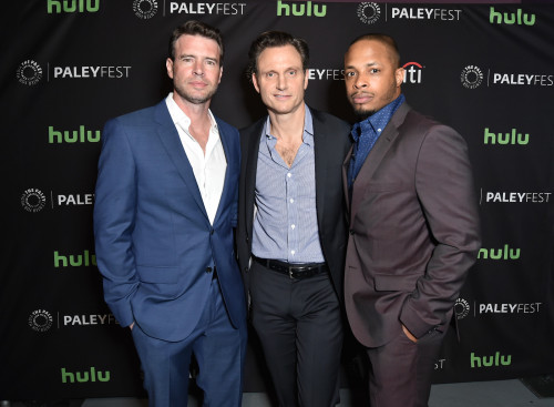 Scott Foley, Tony Goldwyn and Cornelius Smith Jr.