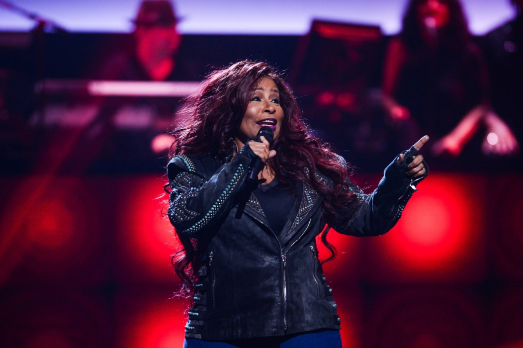 SHOWTIME AT THE APOLLO: Chaka Kahn performs at the Apollo Theater for SHOWTIME AT THE APOLLO airing Monday, Dec. 5 (8:00-10:00 PM ET/PT) on FOX. CR: Anthony Behar/Fox